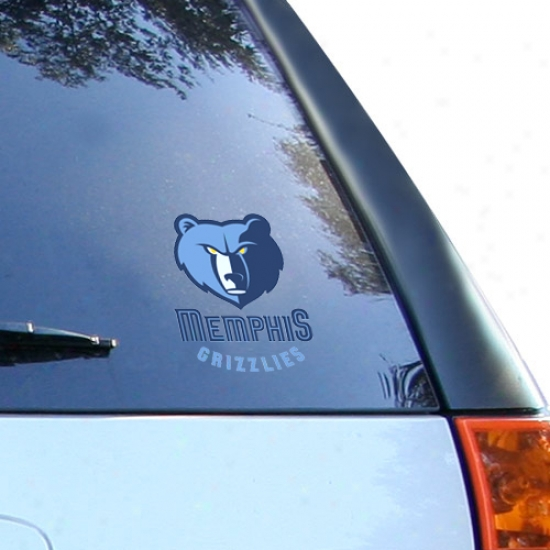 Memphis Grizzlies Small Window Cling