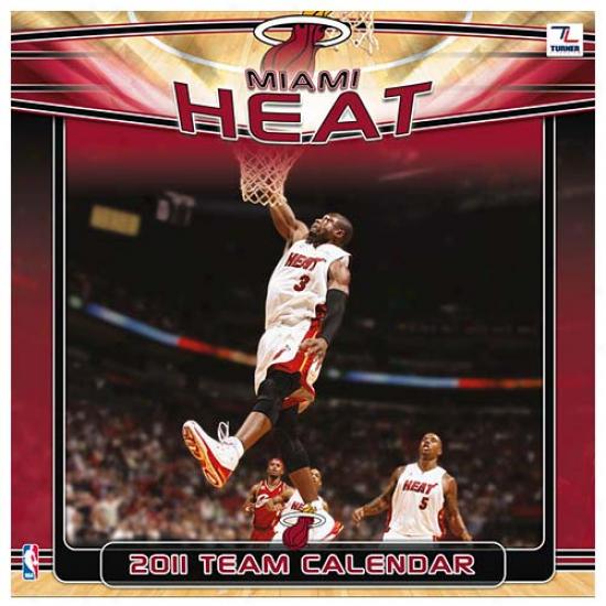 Miami Heat 2011 Wall Calendar