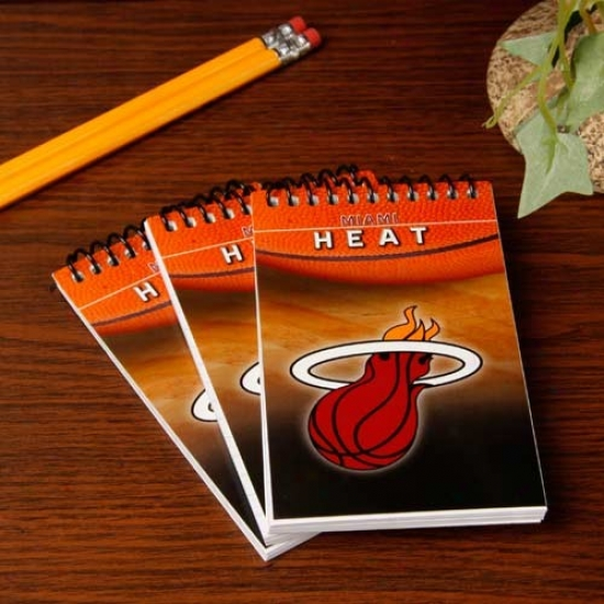 Miami Heat 3-pack Team Memo Pads