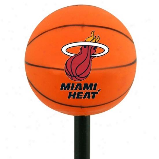 Miami Heat Basketball Antenna Topper