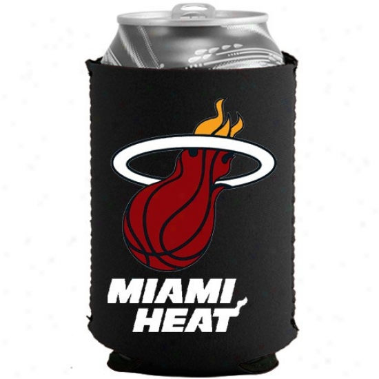 Miamo Heat Black Collapsible Can Coolie
