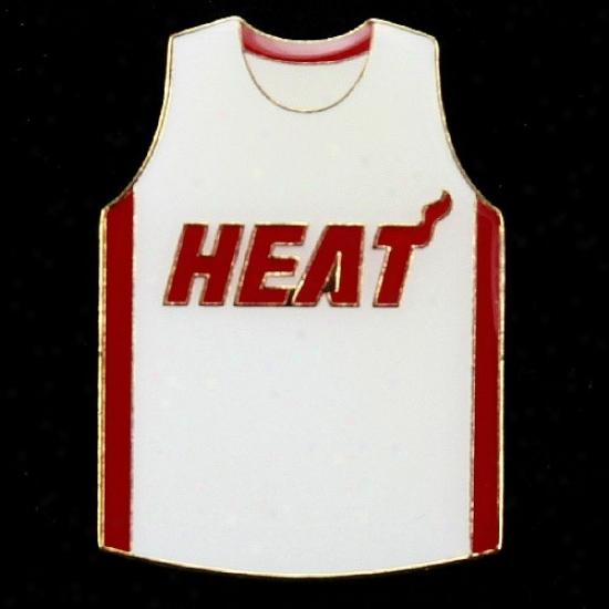Miami Heat Gear: Miami Heat Team Jersey Pin