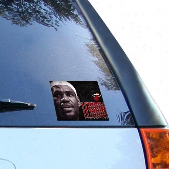 Miami Heat Lebron James Ultra Decal