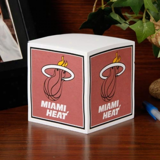 Miami Heat Note Cube