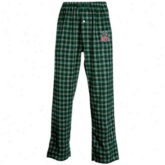 Milwaukee Bucks Green Tailgate Pajama Pants