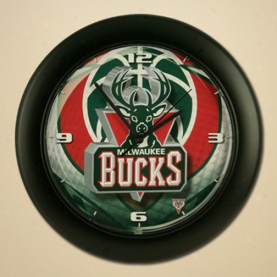 Milwaukee Bucks High Definition Wall Clock