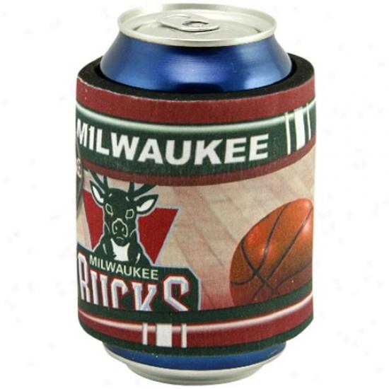 Milwaukee Bucks Slap Wrap Can Coolie