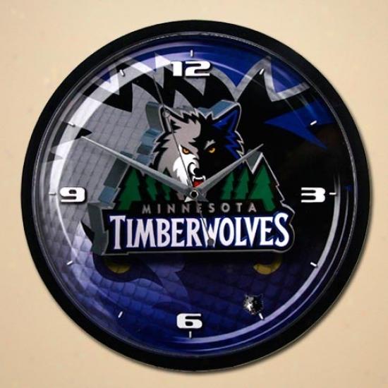 Minnesota Timberwolves 12'' Wall Clock