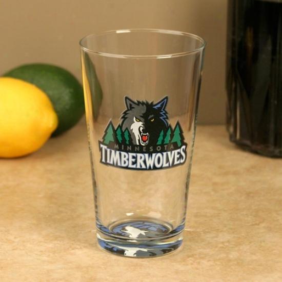 Minnesota Timberwolves 17 Oz. Bottoms Up Mixing Glass