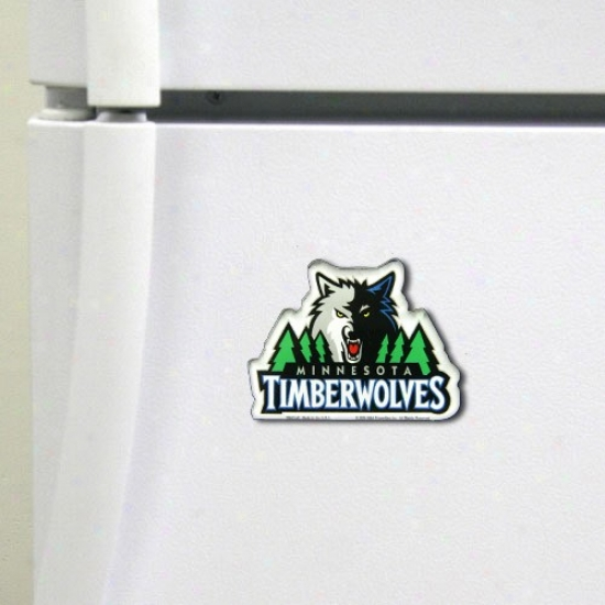 Minnesota Timberwolves High Definition Magnet