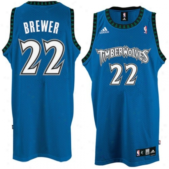 Minnesota Timberwolves Jerseys : Adidas Minnesota Timberwolves #22 Corey Brewer Blue Swingman Basketball Jerseys