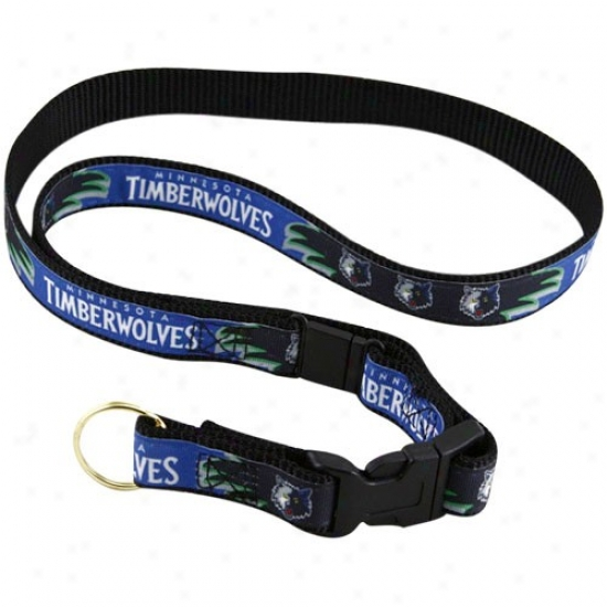 Minnesota Timberwolves Royal Blue Lanyard