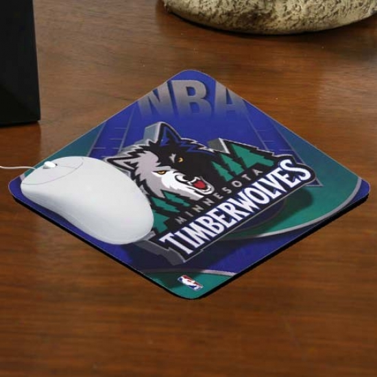 Minnesota Timberwolves Team Logo Neoprene Mousepad