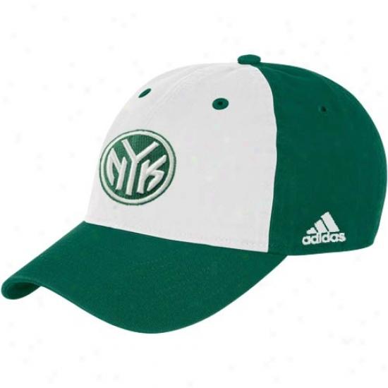 N. Y. Knick Cap : Adias N. Y. Knick Two Tone St. Patrick's Day Cap