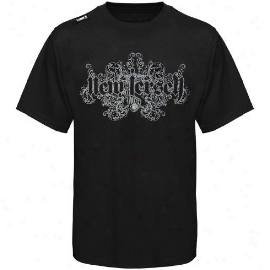 Nets T Snirt : Nefs Black Coal T Shirt