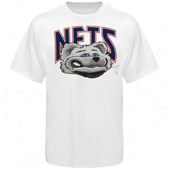 Nets T-shirt : Nets Youht White Sly Fox T-shirt