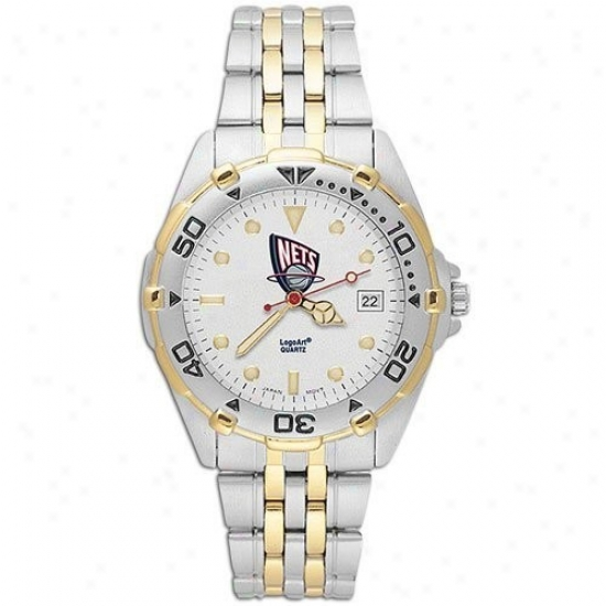Nets Watch : Nets Meh's Stainless Steel All-star Watch