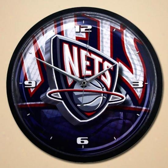 New Jersey Nets 12'' Wall Clock