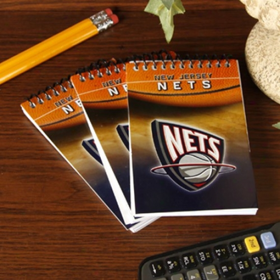 New Jersey Nets 3-pack Team Memo Pads