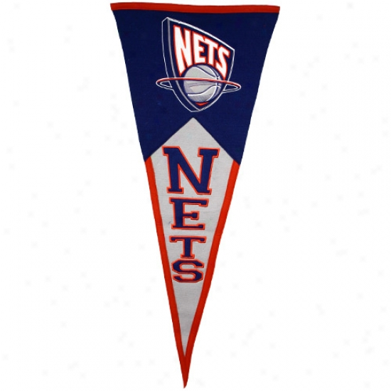 New Jersey Nets Classic Wool Pennant