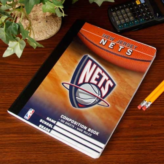 New Jersey Nets Composition Notebook