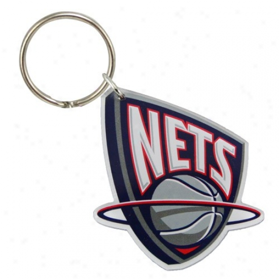 New Jersey Nets High Definition Keychain