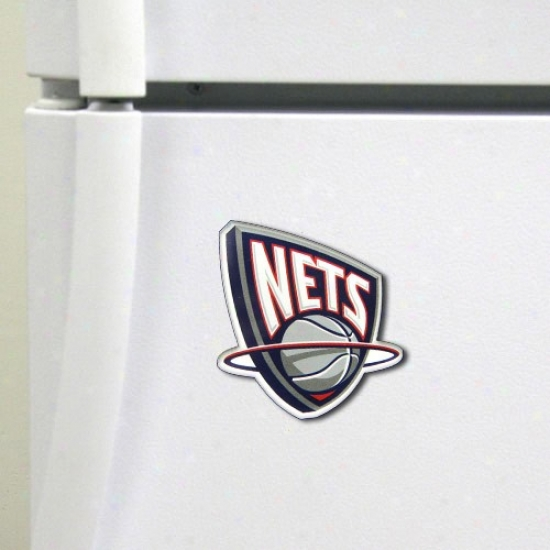 New Jersey Nets High Definition Magnet