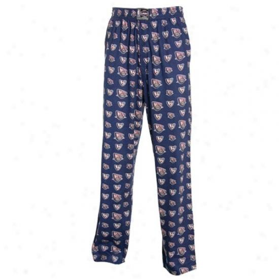 New Jersey Nets Navy Blue My Team Pajama Pants
