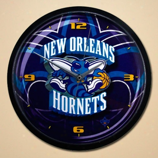 New Orleans Hornets 12'' Wall Clock