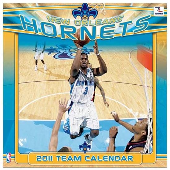 New Orleans Hornets 2011 Wall Calendar