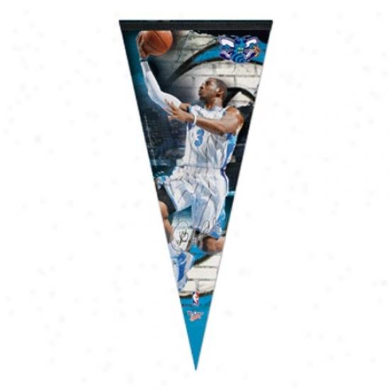 New Orleans Hornets #3 Chris Paul 17'' X 40'' Premiym Felt Player Pennant