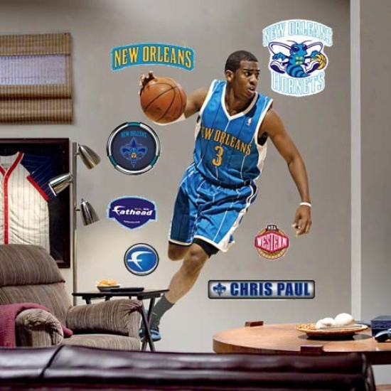 New Orleans Hornets #3 Chris Paul Player Fathead