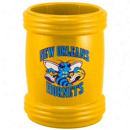 New Orleans Hornets Gold Sports Magna-coolie Beverage Holder