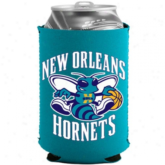 New Orleans Hornets Light Blue Collapsible Can Coolie