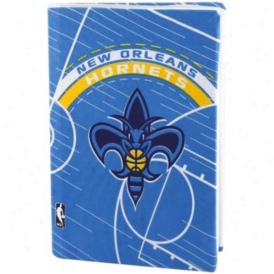 New Orleans Hornets Royal Blue Stretchable Book Cover