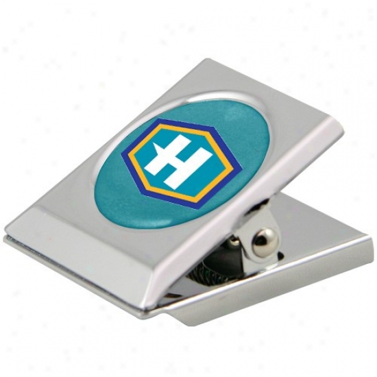 New Orleans Hornets Silver Heavy-duty Magnetic Chip Clip