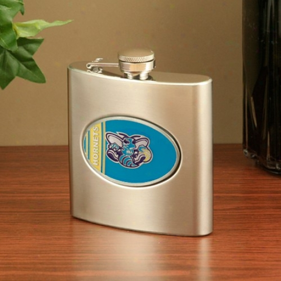 New Orleans Hornets Unsullied Steel Flask