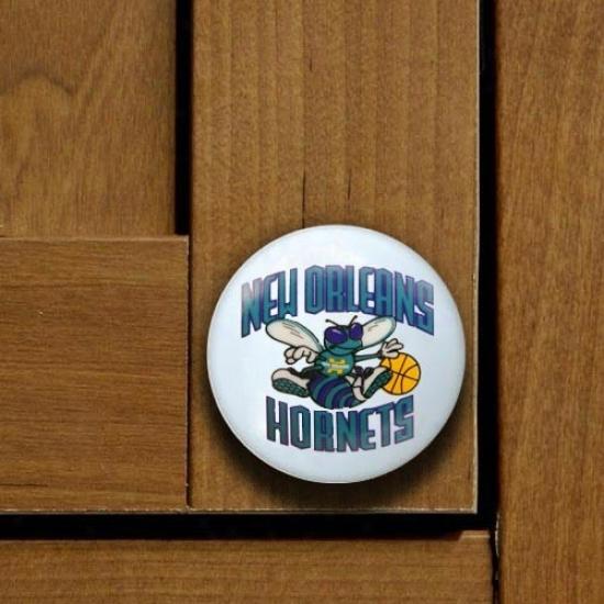 New Orleans Hornets Team Logo Cabinet Knob