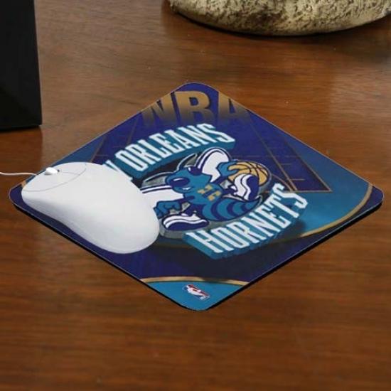 New Orleans Hornets Team Logo Neoorene Mousepad