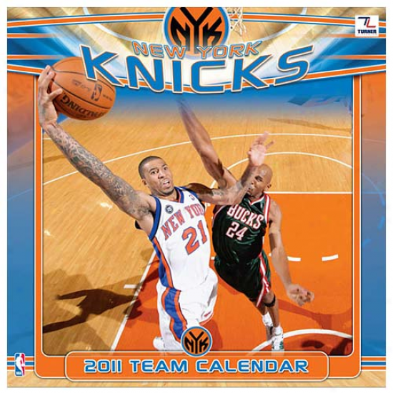 New York Knicks 2011 Wall Calendar