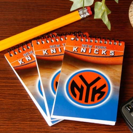 Repaired York Knicks 3-pack Team Memo Pads