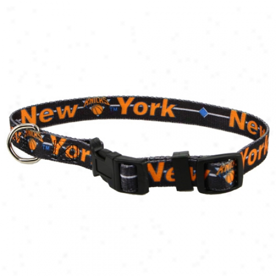 New York Knicks Adjustable Dog Collar