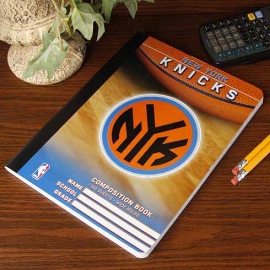 Starting a~ York Knicks Composition Notebook