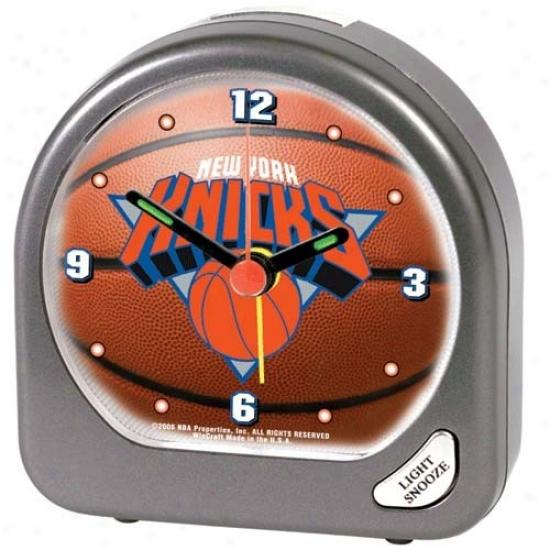 New York Knicks Plastic Alarm Clock