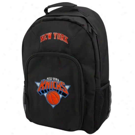 New York Knicks Youfh Black Southpaw Backpack
