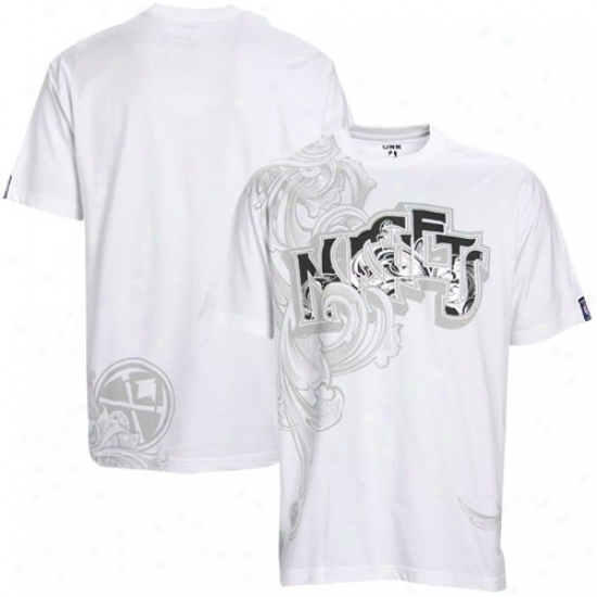 Nuggets Apparel: Nuggets White Zeplin T-shirt