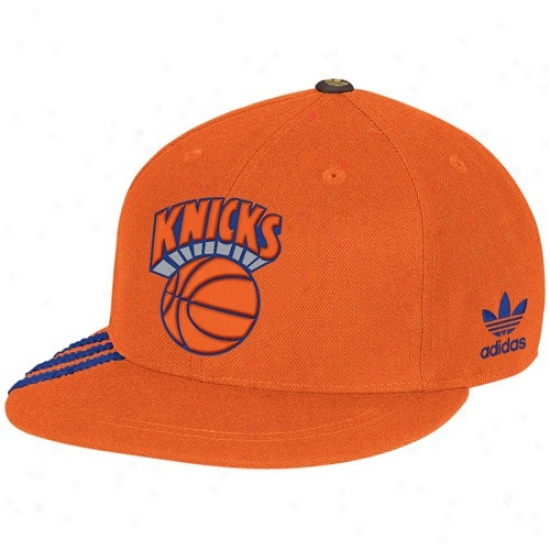 Ny Knick Hat : Adidas Ny Knick Orange Championship Years Fashion Fitted Hat