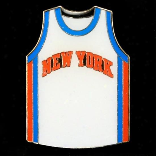 N.y. Knicks Caps : N.y. Knicks Team Jersey Pin