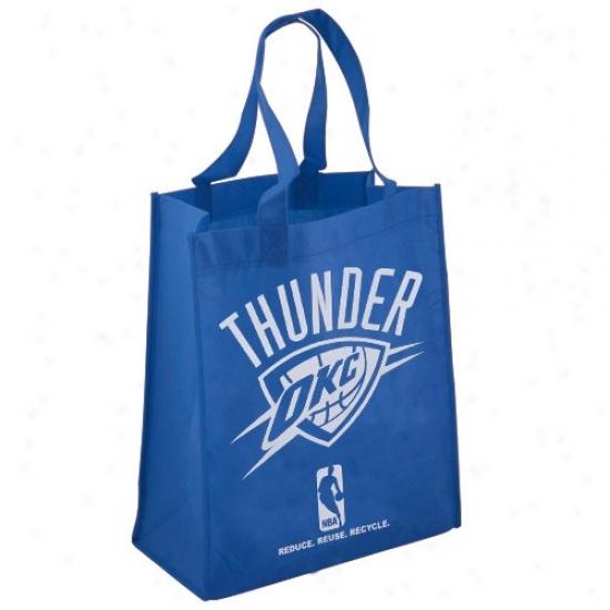 Oklahoma City Thunder Royal Blue Reusable Tote Bag