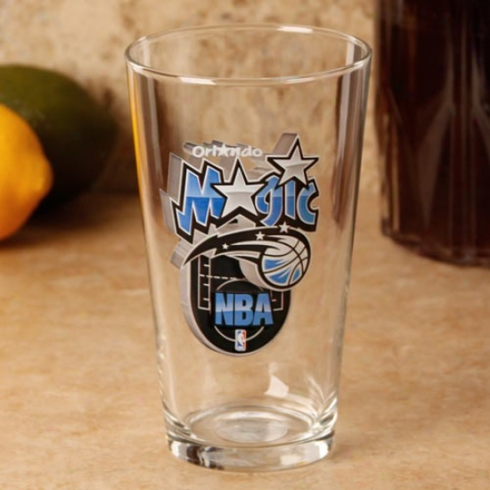 Orlando Magic 17 Oz. Enhanced Hi-def Mixing Glass